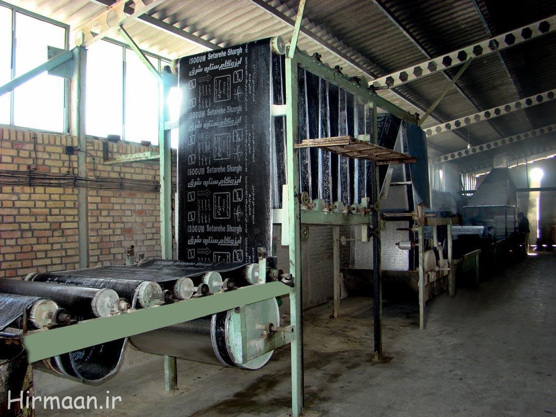 قیمت ایزوگام درب کارخانه