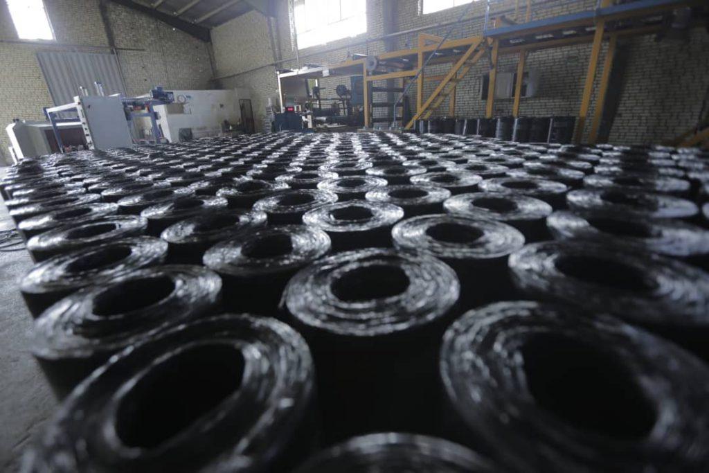 کارخانه ایزوگام بردین دلیجان