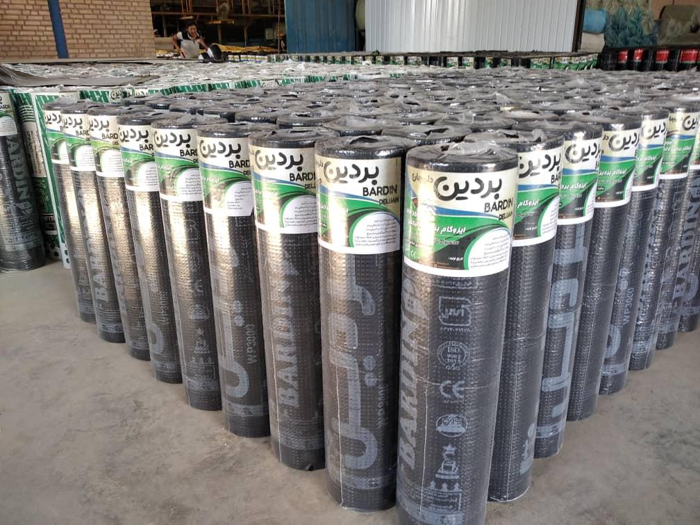 قیمت ایزوگام بردین دو لایه صادراتی