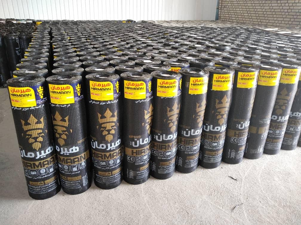 ایزوگام صادراتی با وزن هر رول 50 کیلوگرم