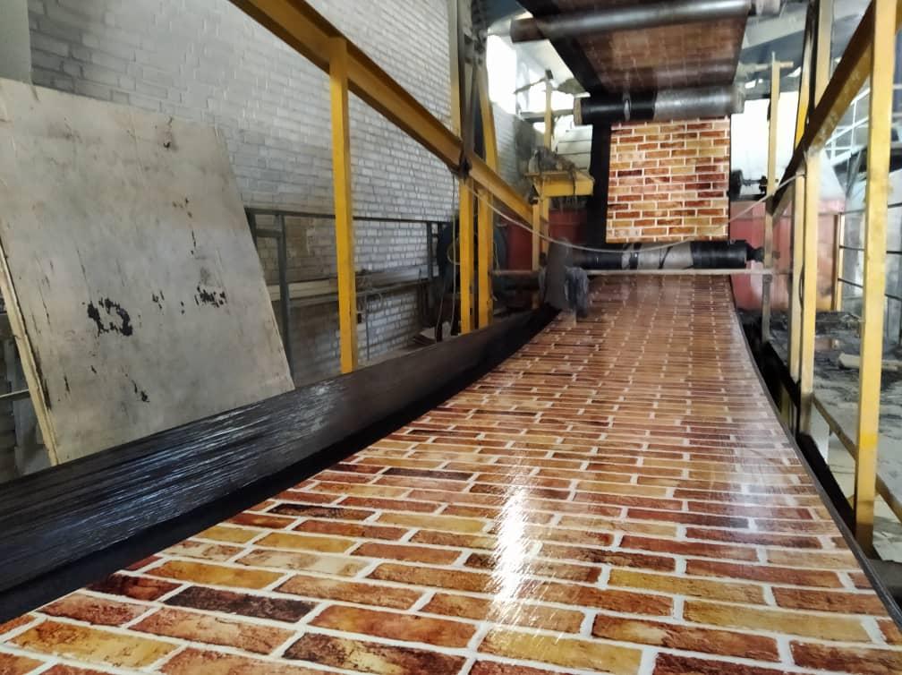 کارخانه تولید ایزوگام طزح دار آجری