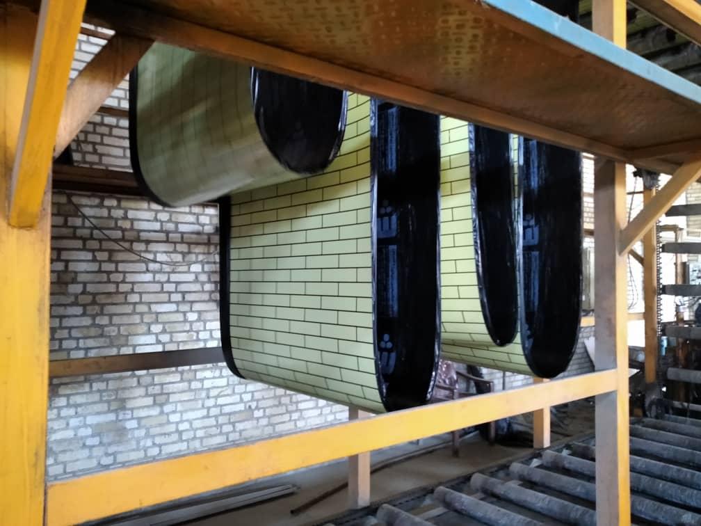 ایزوگام طرح دار آجری برای دیوار